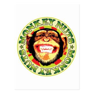 Monkey Nuts Postcard