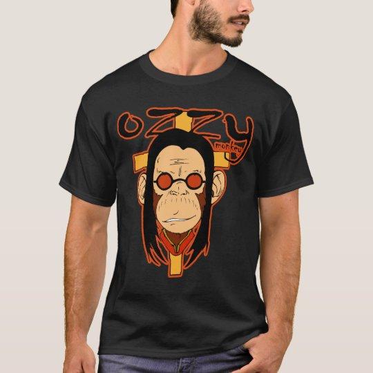 Monkey Ozzy (black nero) T-Shirt