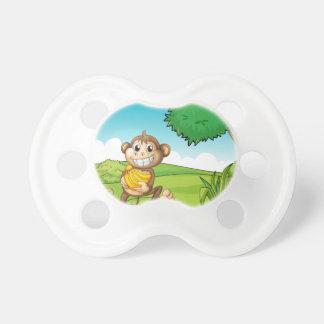 Monkey Pacifiers