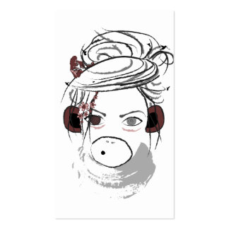 monkey. pack of standard business cards