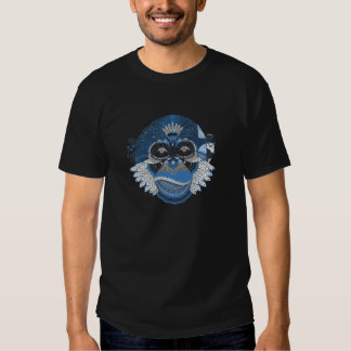 Monkey Pattern Image T Shirt