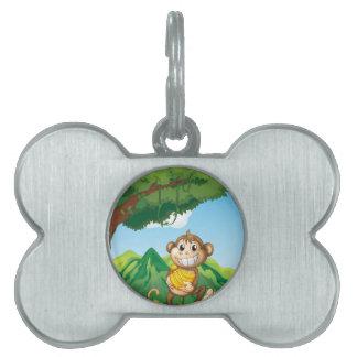 Monkey Pet Tags