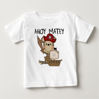 Monkey Pirate Ahoy Matey t-shirts and Gifts