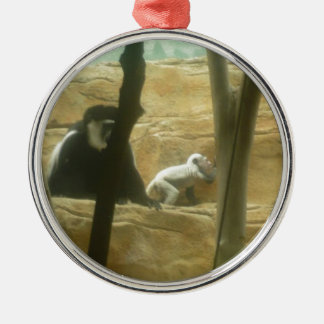 Monkey Play Christmas Ornament