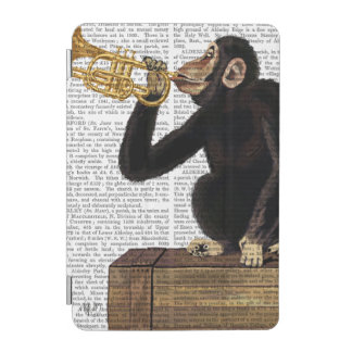 Monkey Playing Trumpet 2 iPad Mini Cover