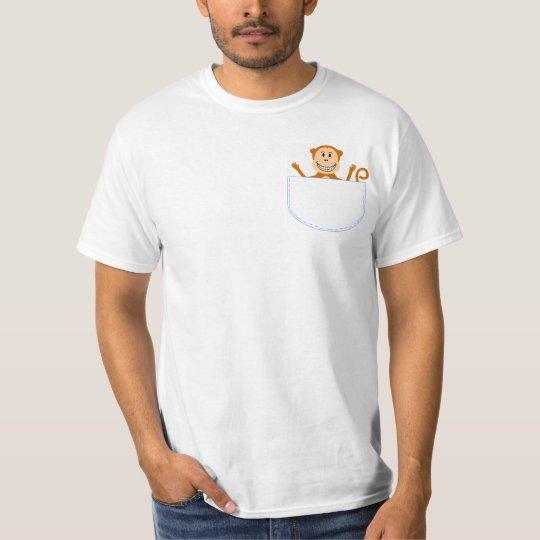 Monkey pocket pal t-shirt
