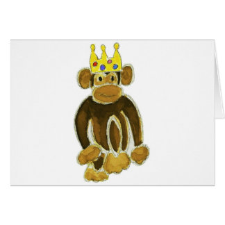 Monkey Prince Greeting Cards