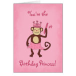 Monkey Princess 1st Birthday