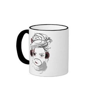 monkey. ringer mug