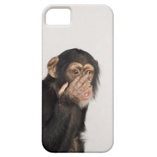 Monkey rubbing its face barely there iPhone 5 case