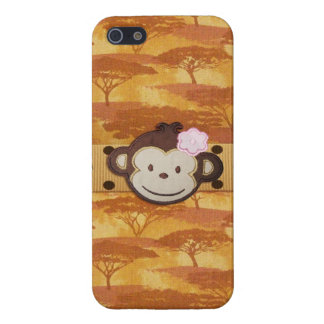Monkey Safari Cover For iPhone 5/5S
