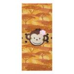 Monkey Safari Full Color Rack Card