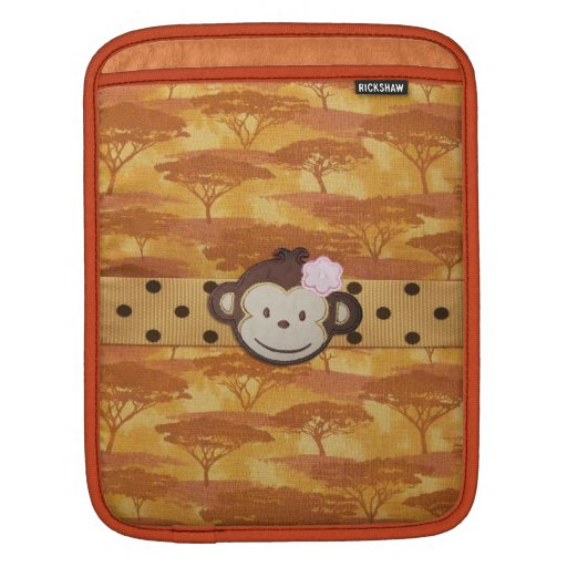 Monkey Safari iPad Sleeves
