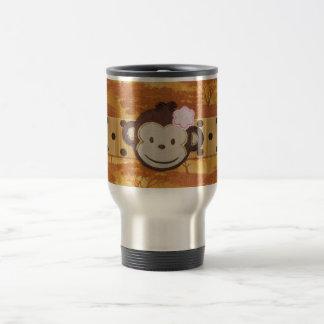 Monkey Safari Travel Mug