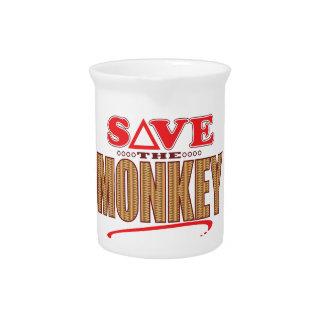 Monkey Save Pitcher