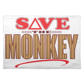 Monkey Save Placemat