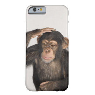 Monkey scratching its head barely there iPhone 6 case