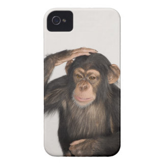 Monkey scratching its head iPhone 4 cover