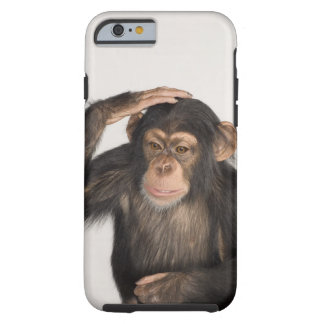 Monkey scratching its head tough iPhone 6 case