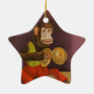 Monkey See Monkey Do Christmas Ornament