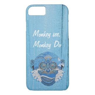 Monkey see monkey Do iPhone 8/7 Case