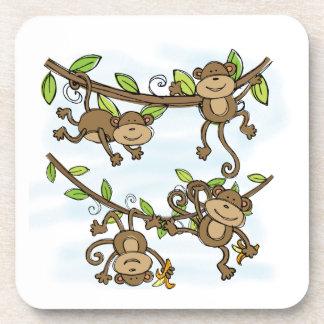 Monkey Shine Drink Coaster