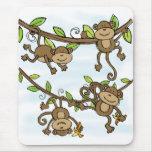 Monkey Shine Mouse Pad