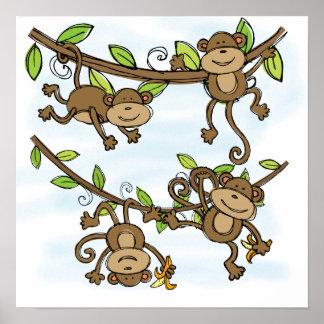 Monkey Shine Poster