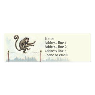 Monkey Shines Business Card