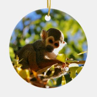 Monkey Shines Christmas Ornament
