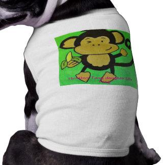 monkey shirt for dogs medium sleeveless dog shirt