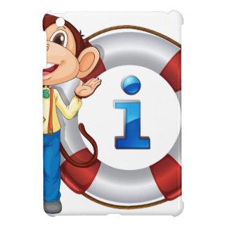 monkey showing float iPad mini covers