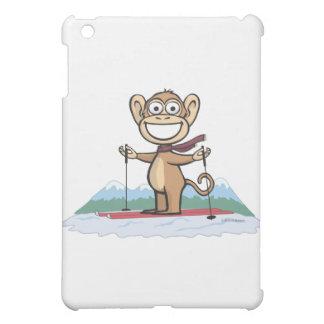 Monkey Skiing iPad Mini Covers