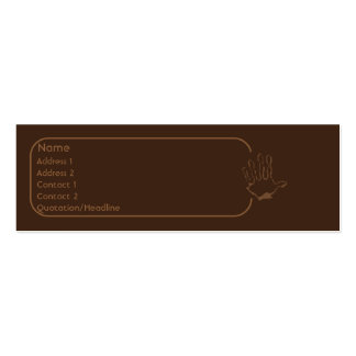 Monkey - Skinny Pack Of Skinny Business Cards