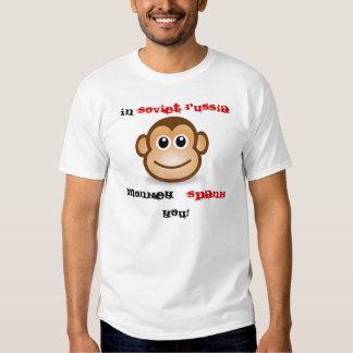 Monkey Spank Tee Shirt