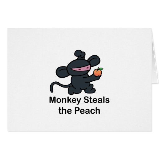 Monkey Steals the Peach Cards