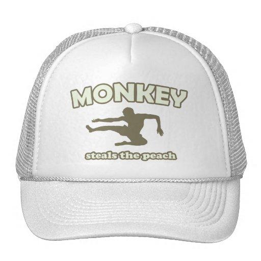 Monkey Steals the Peach Hats