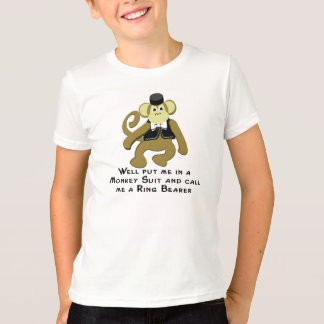 Monkey Suit/ Ring Bearer T-Shirt