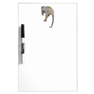 Monkey that is Eating. Dry Erase Board