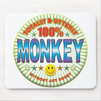 Monkey Totally Mouse Pads