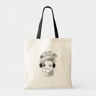 monkey. budget tote bag