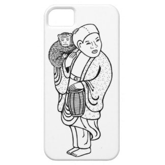 Monkey trainer netsuke barely there iPhone 5 case