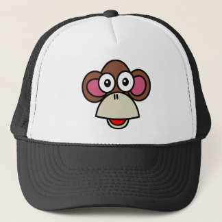 Monkey Trucker Hat