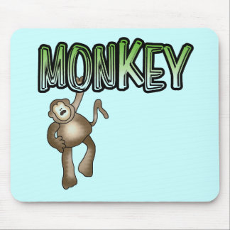 MONKEY Tshirts and Gifts Mouse Pad
