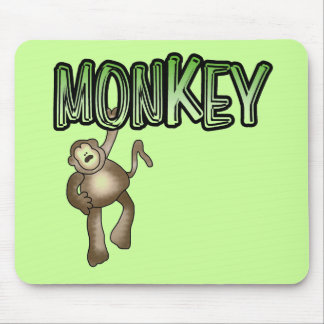 MONKEY Tshirts and Gifts Mouse Pads