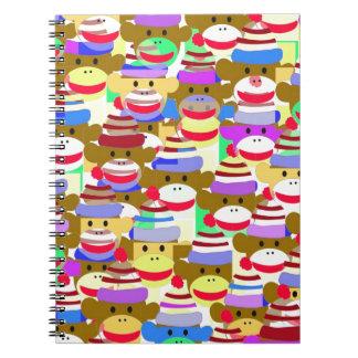 Monkey Wallpaper. Spiral Notebook