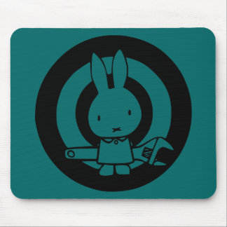 Monkey Wrench Rabbit Mouse Pad