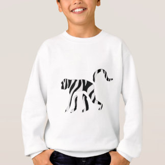Monkey Zebra: Wild Mash-Up Sweatshirt