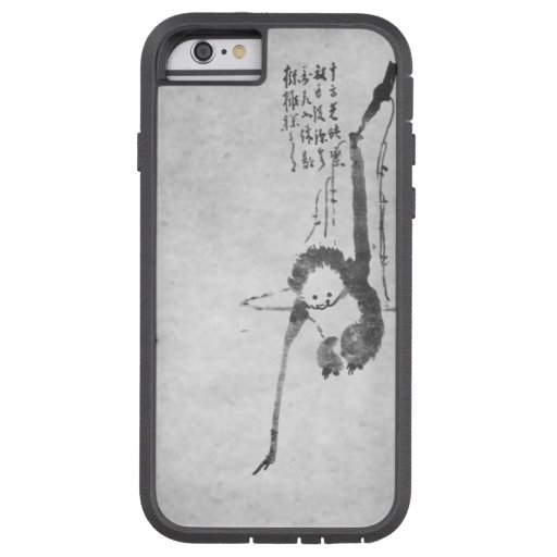 Monkey zen painting meditation phone iPhone 6 case