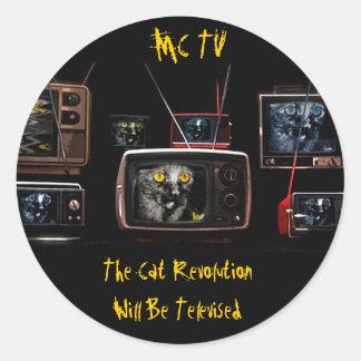 MonkeyCat TV Stickers